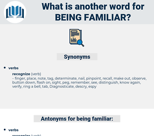 being familiar, synonym being familiar, another word for being familiar, words like being familiar, thesaurus being familiar