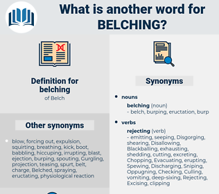 belching, synonym belching, another word for belching, words like belching, thesaurus belching