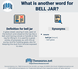 bell jar, synonym bell jar, another word for bell jar, words like bell jar, thesaurus bell jar