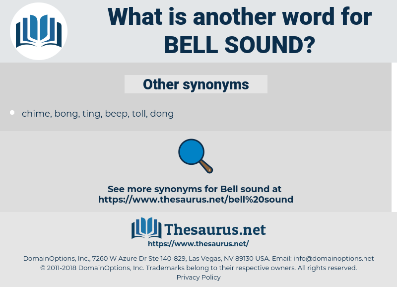bell sound, synonym bell sound, another word for bell sound, words like bell sound, thesaurus bell sound