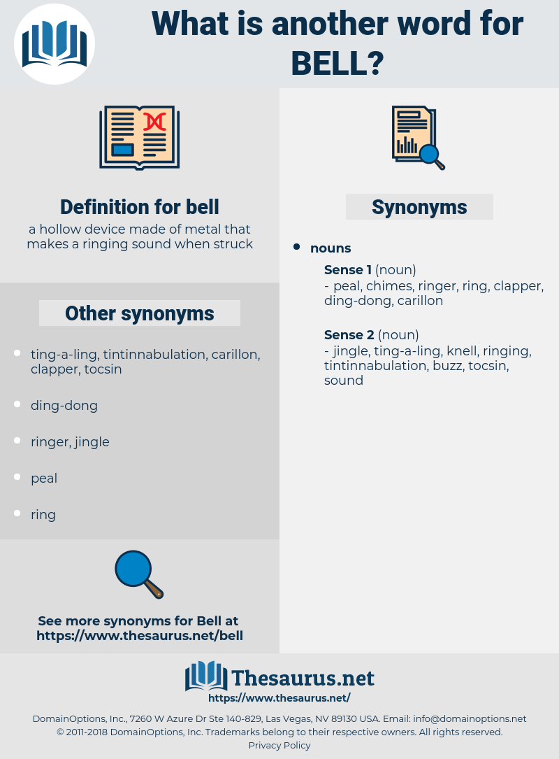 bell, synonym bell, another word for bell, words like bell, thesaurus bell