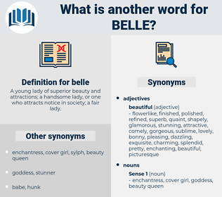 belle, synonym belle, another word for belle, words like belle, thesaurus belle