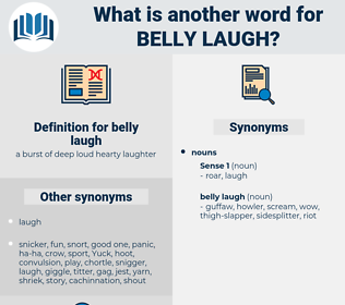 belly laugh, synonym belly laugh, another word for belly laugh, words like belly laugh, thesaurus belly laugh
