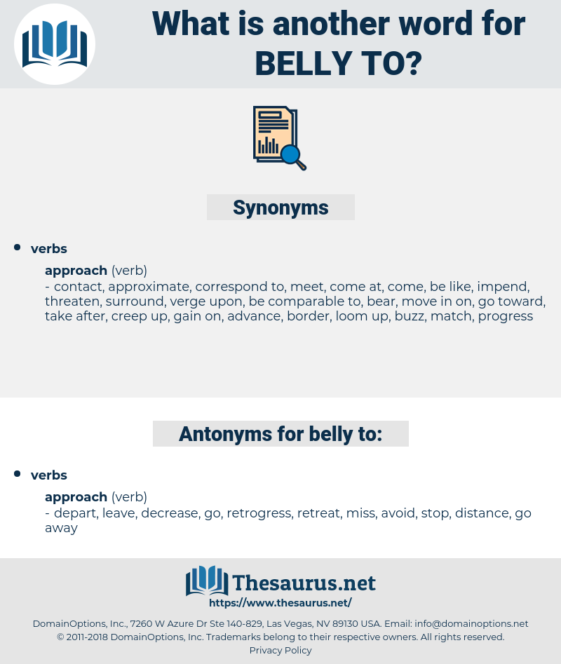belly to, synonym belly to, another word for belly to, words like belly to, thesaurus belly to