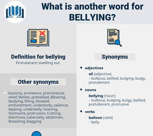 bellying, synonym bellying, another word for bellying, words like bellying, thesaurus bellying