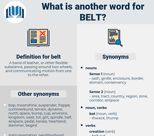 belt, synonym belt, another word for belt, words like belt, thesaurus belt