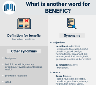 benefic, synonym benefic, another word for benefic, words like benefic, thesaurus benefic