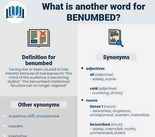 benumbed, synonym benumbed, another word for benumbed, words like benumbed, thesaurus benumbed
