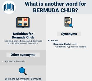 Bermuda Chub, synonym Bermuda Chub, another word for Bermuda Chub, words like Bermuda Chub, thesaurus Bermuda Chub