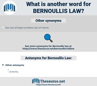 Bernoullis Law, synonym Bernoullis Law, another word for Bernoullis Law, words like Bernoullis Law, thesaurus Bernoullis Law