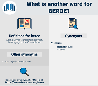 beroe, synonym beroe, another word for beroe, words like beroe, thesaurus beroe