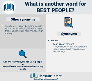 best people, synonym best people, another word for best people, words like best people, thesaurus best people