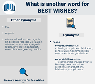 best wishes, synonym best wishes, another word for best wishes, words like best wishes, thesaurus best wishes