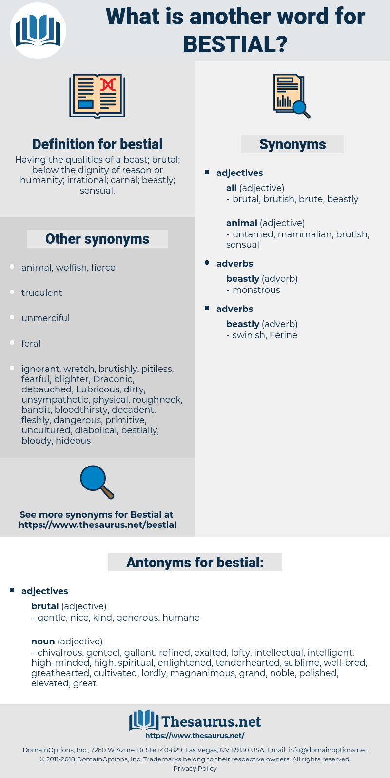 bestial, synonym bestial, another word for bestial, words like bestial, thesaurus bestial