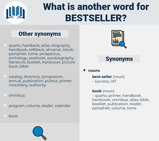 bestseller, synonym bestseller, another word for bestseller, words like bestseller, thesaurus bestseller