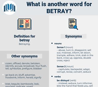 betray, synonym betray, another word for betray, words like betray, thesaurus betray