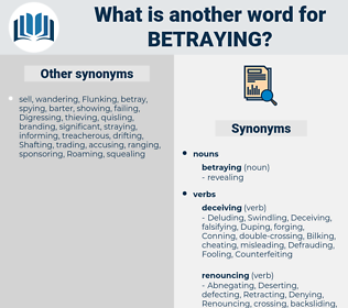 betraying, synonym betraying, another word for betraying, words like betraying, thesaurus betraying