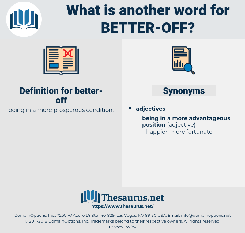 better off, synonym better off, another word for better off, words like better off, thesaurus better off