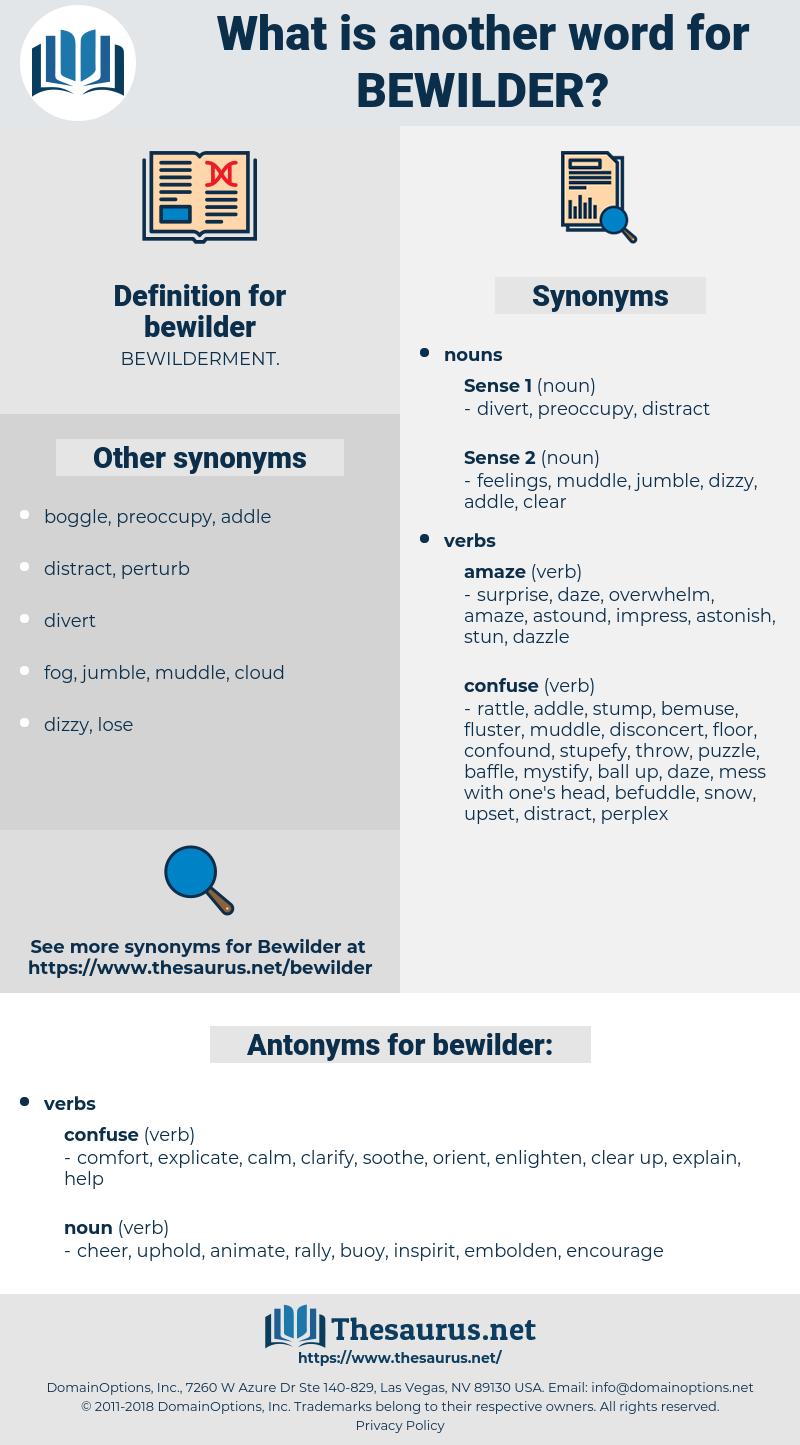 bewilder, synonym bewilder, another word for bewilder, words like bewilder, thesaurus bewilder