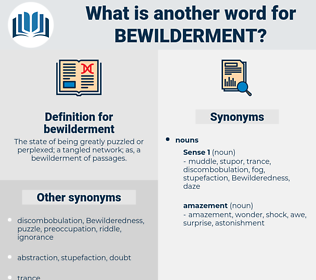bewilderment, synonym bewilderment, another word for bewilderment, words like bewilderment, thesaurus bewilderment