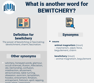 bewitchery, synonym bewitchery, another word for bewitchery, words like bewitchery, thesaurus bewitchery