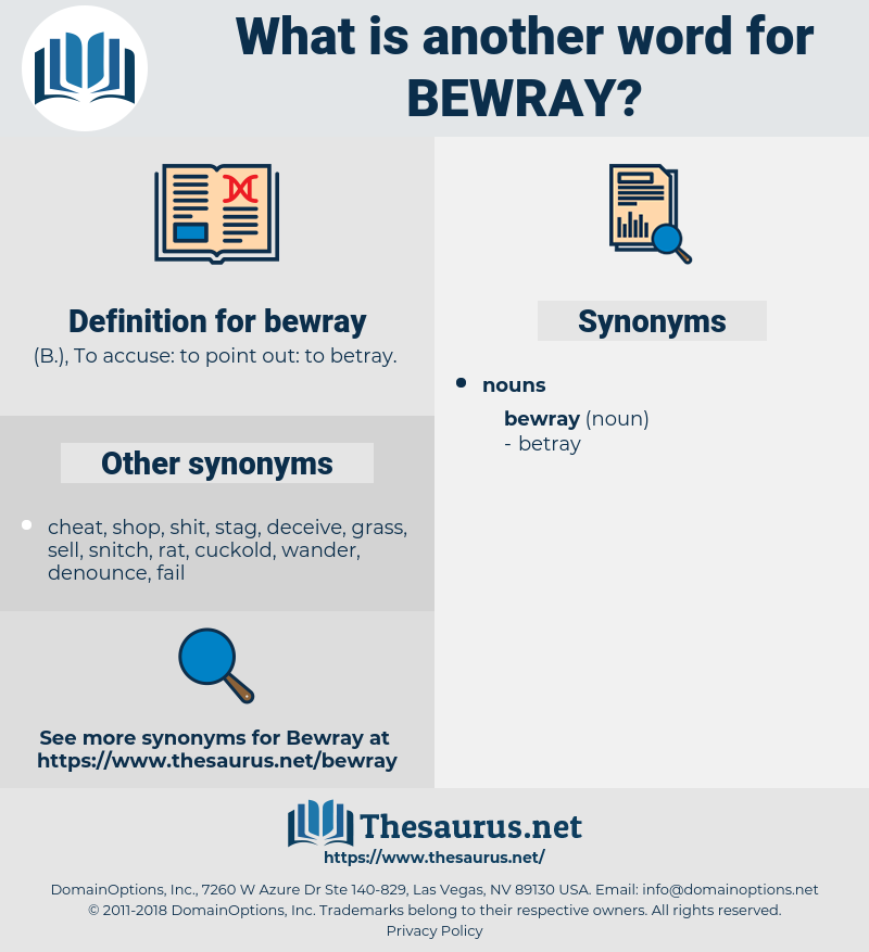 bewray, synonym bewray, another word for bewray, words like bewray, thesaurus bewray