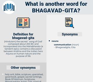 bhagavad-gita, synonym bhagavad-gita, another word for bhagavad-gita, words like bhagavad-gita, thesaurus bhagavad-gita