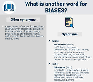 Biases, synonym Biases, another word for Biases, words like Biases, thesaurus Biases