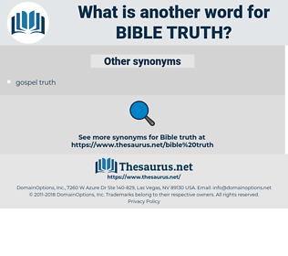 bible truth, synonym bible truth, another word for bible truth, words like bible truth, thesaurus bible truth