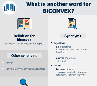 biconvex, synonym biconvex, another word for biconvex, words like biconvex, thesaurus biconvex