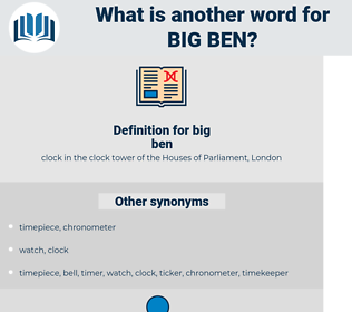 big ben, synonym big ben, another word for big ben, words like big ben, thesaurus big ben