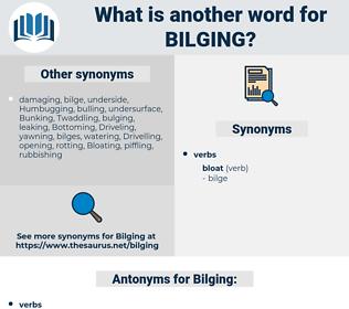 Bilging, synonym Bilging, another word for Bilging, words like Bilging, thesaurus Bilging