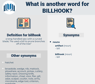 billhook, synonym billhook, another word for billhook, words like billhook, thesaurus billhook
