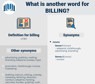 billing, synonym billing, another word for billing, words like billing, thesaurus billing