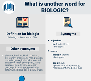 biologic, synonym biologic, another word for biologic, words like biologic, thesaurus biologic
