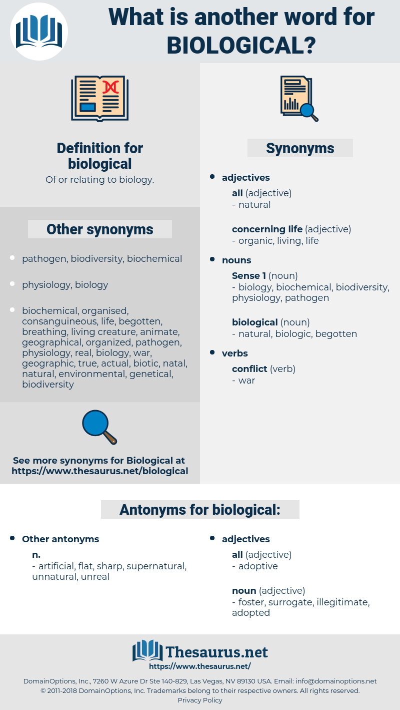 biological, synonym biological, another word for biological, words like biological, thesaurus biological