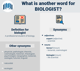 biologist, synonym biologist, another word for biologist, words like biologist, thesaurus biologist