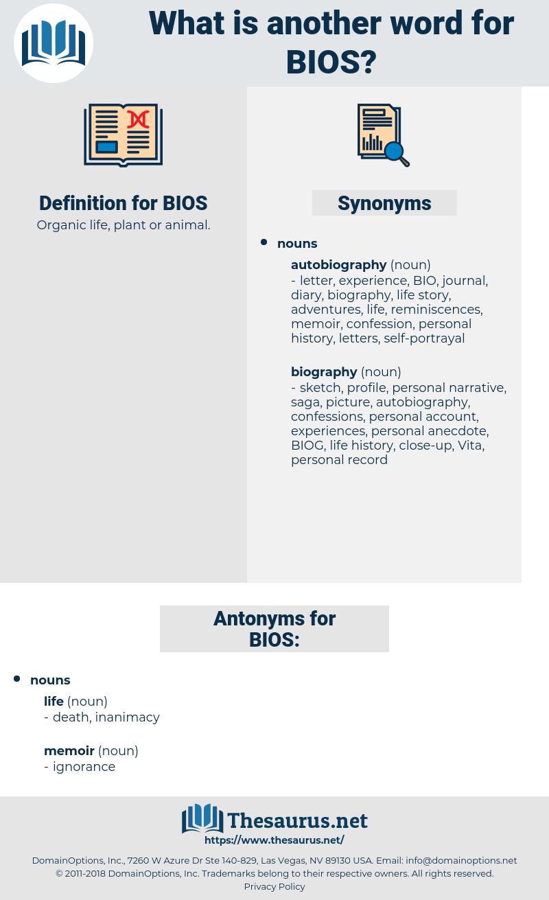 BIOS, synonym BIOS, another word for BIOS, words like BIOS, thesaurus BIOS