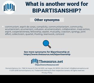 bipartisanship, synonym bipartisanship, another word for bipartisanship, words like bipartisanship, thesaurus bipartisanship