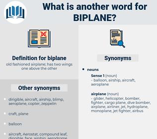 biplane, synonym biplane, another word for biplane, words like biplane, thesaurus biplane