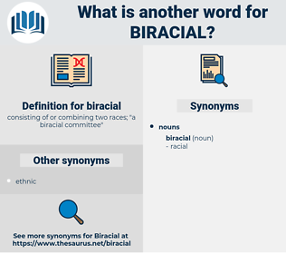 biracial, synonym biracial, another word for biracial, words like biracial, thesaurus biracial