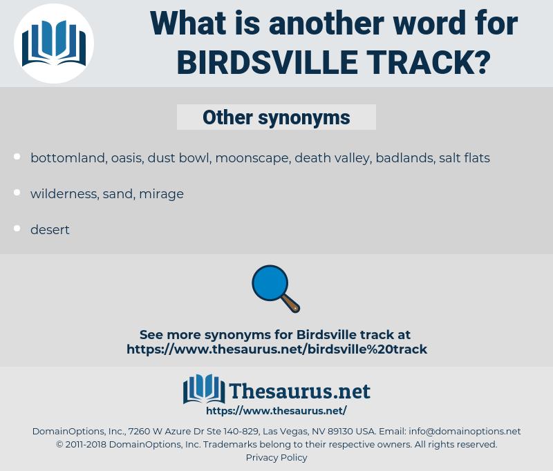 Birdsville Track, synonym Birdsville Track, another word for Birdsville Track, words like Birdsville Track, thesaurus Birdsville Track