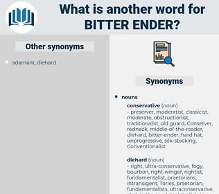 bitter-ender, synonym bitter-ender, another word for bitter-ender, words like bitter-ender, thesaurus bitter-ender