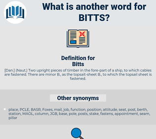Bitts, synonym Bitts, another word for Bitts, words like Bitts, thesaurus Bitts