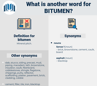 bitumen, synonym bitumen, another word for bitumen, words like bitumen, thesaurus bitumen