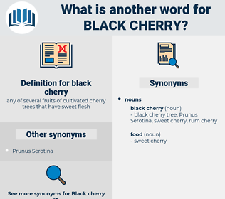 black cherry, synonym black cherry, another word for black cherry, words like black cherry, thesaurus black cherry