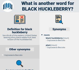 black huckleberry, synonym black huckleberry, another word for black huckleberry, words like black huckleberry, thesaurus black huckleberry