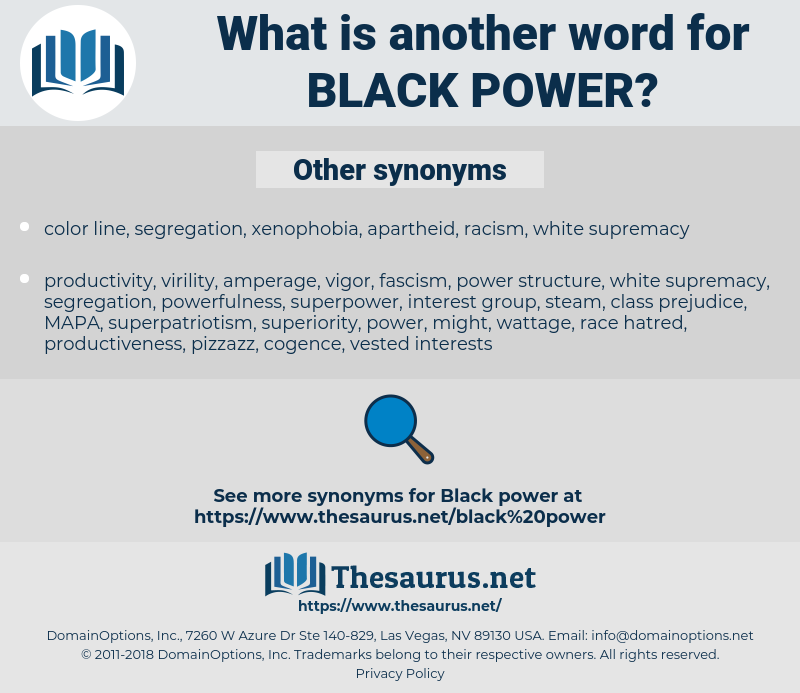 Black Power, synonym Black Power, another word for Black Power, words like Black Power, thesaurus Black Power