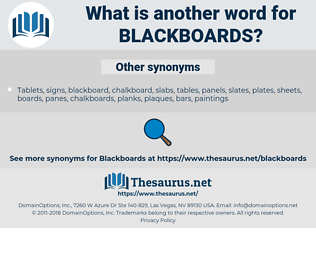 blackboards, synonym blackboards, another word for blackboards, words like blackboards, thesaurus blackboards