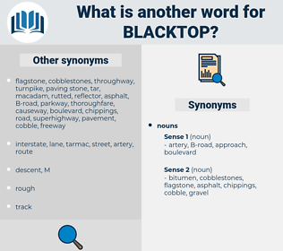 blacktop, synonym blacktop, another word for blacktop, words like blacktop, thesaurus blacktop